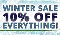 Winter Sale - 10% Off Everything!
