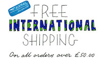 Free international shipping offer