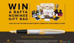 Win a BAFTA Nominee Gift Bag with Cross