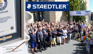Staedtler Breaks the World Record