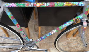 Win a Bike Decorated with Uni POSCA