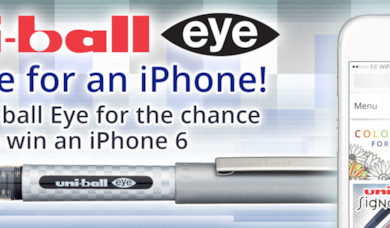 Eye iPhone - Win an iPhone 6 with Uni-ball Eye!