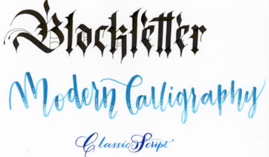 Cult Pens Creative Column: Calligraphy