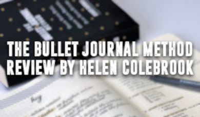 Helen Colebrook's Bullet Journal Method Review