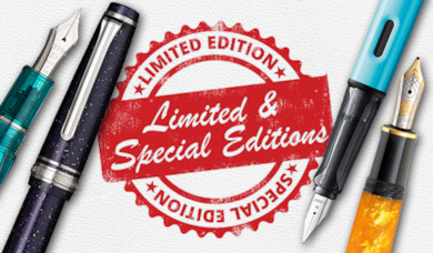 Limited Edition and Special Edition Pens