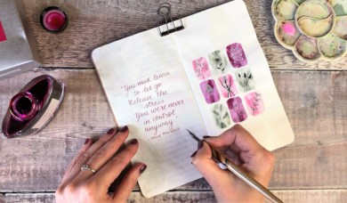 Brush Lettering with Helen Colebrook