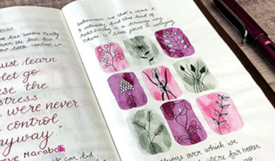 Using Ink in Your Journals