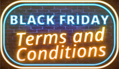 Black Friday Competition Terms and Conditions