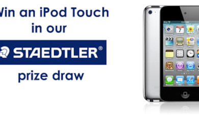 Staedtler iPod Touch Prize Draw Winner