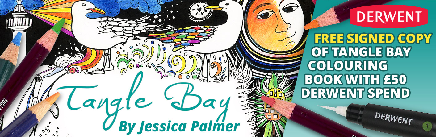 Free Signed Copy of Tangle Bay with £50 Derwent Spend