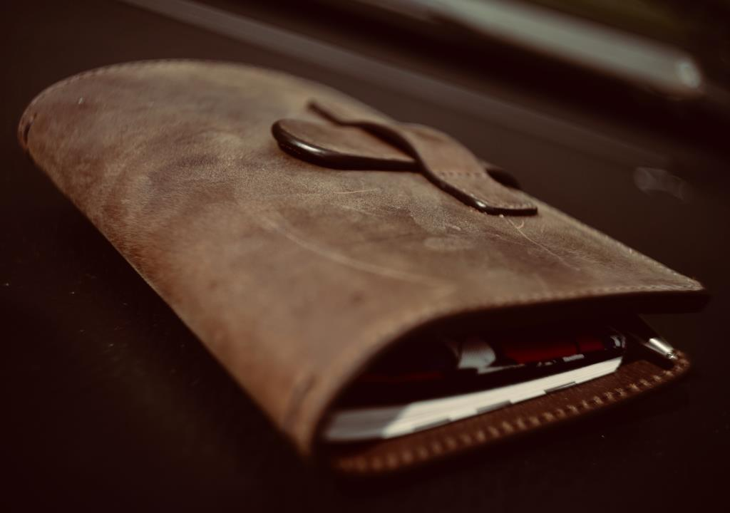 Ruitertassen leather notebook covers