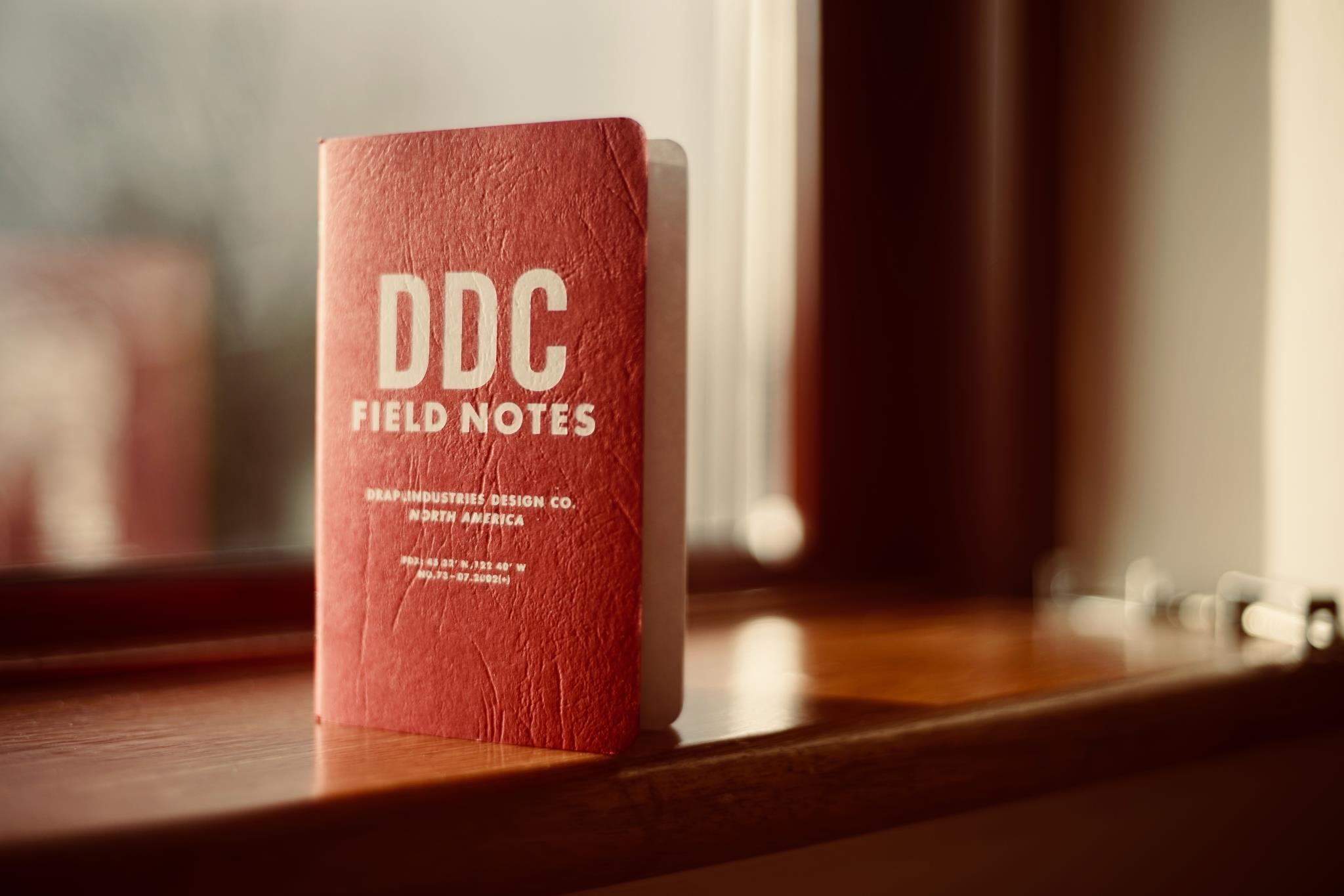 Field Notes Red Notebook