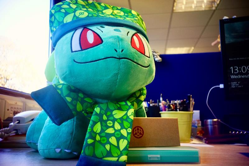 Bulbasaur from Build-A-Bear