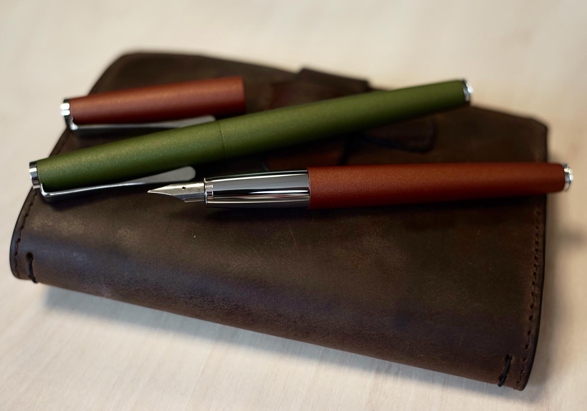 Lamy Studio Olive and Terracotta Special Edition Pens