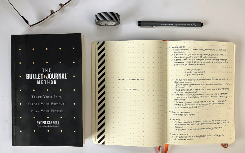 The Bullet Journal Method Review