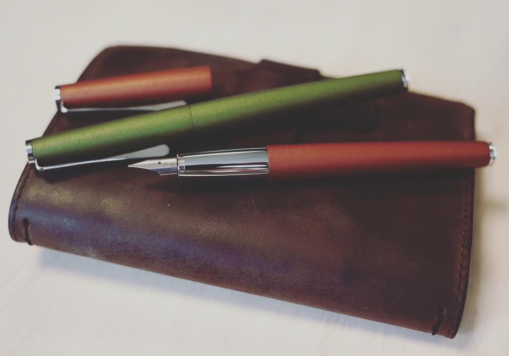 Lamy Studio Olive and Terracotta Editions