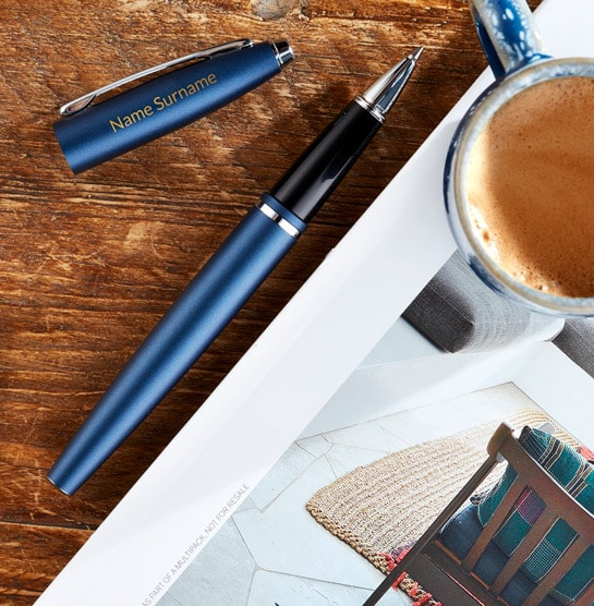 Cross Calais Rollerball Pen in Blue