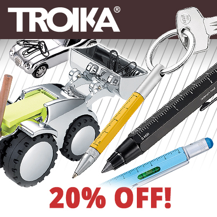 20% off all Troika