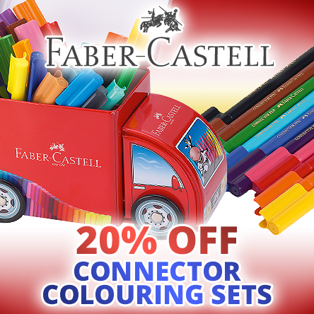 20% off Faber-Castell Connector Pens