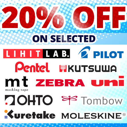 20% off selected brands