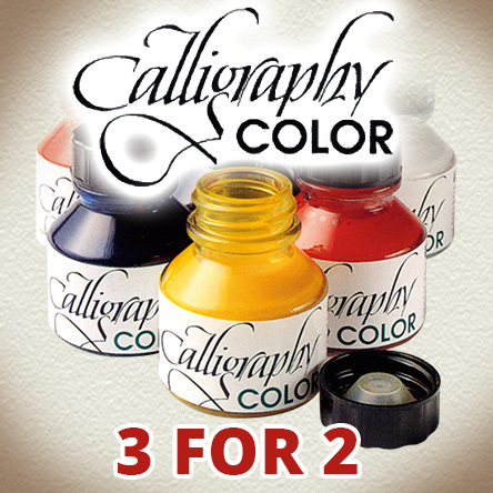3 for 2 on Calligraphy Color ink