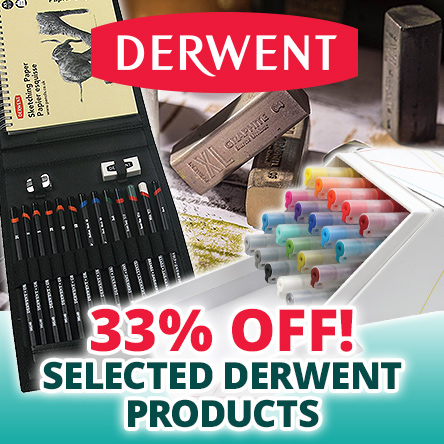 33% off selected Derwent products