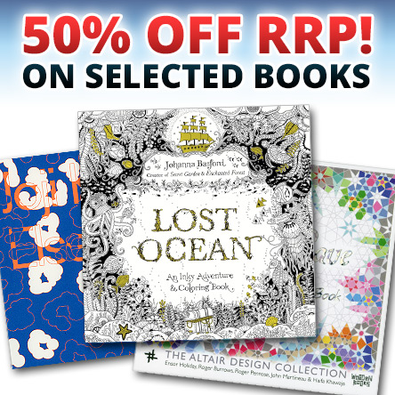 50% off RRP on selected books