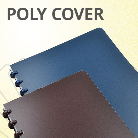 Atoma Poly Cover Notebooks