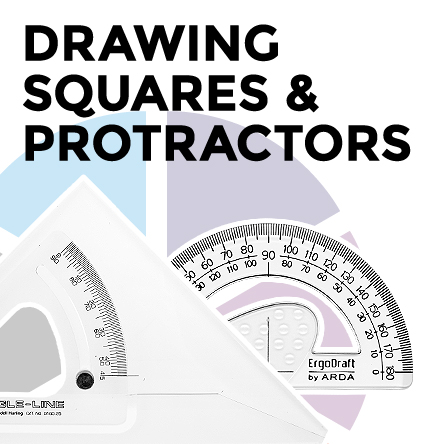 Blundell Harling Drawing Squares and Protractors