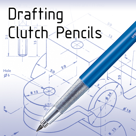 Clutch Pencils for Technical Drawing