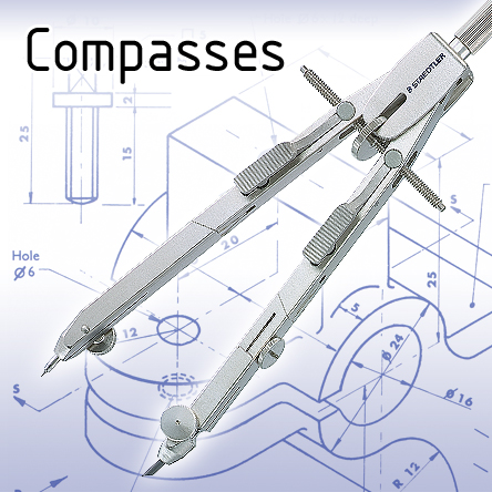 Compasses for Technical Drawing
