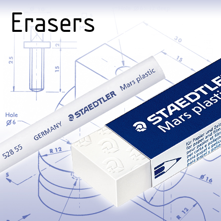 Erasers for Technical Drawing