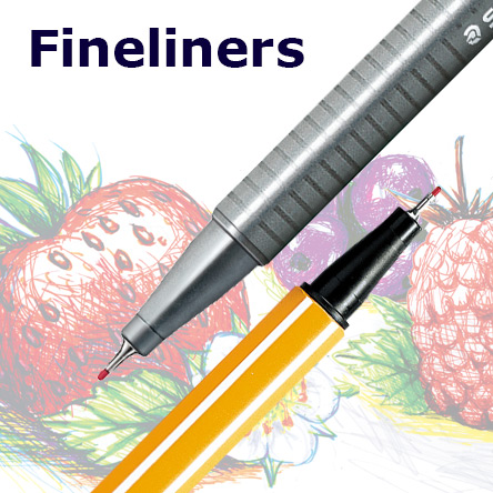 Fineliners for Colouring