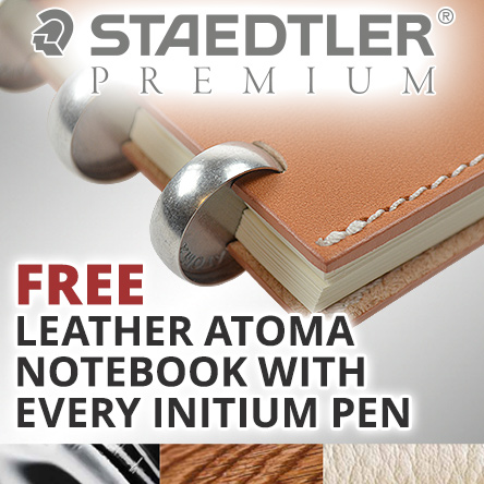Free Atoma notebook with every Staedtler Premium pen
