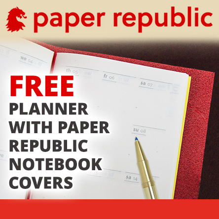 Free Planner with every Paper Republic Cover