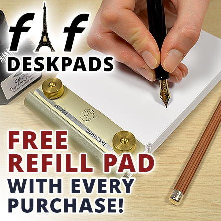 Free refill with every FAF desk pad
