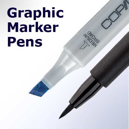 Graphic Marker Pens