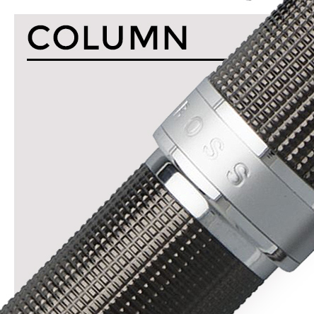 Hugo Boss Column