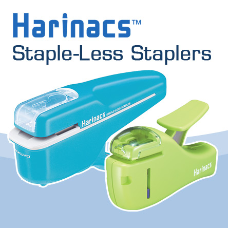 Kokuyo Harinacs Staple-Less Staplers