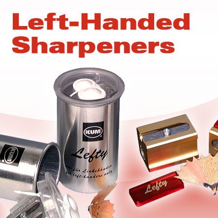 KUM Left-Handed Sharpeners
