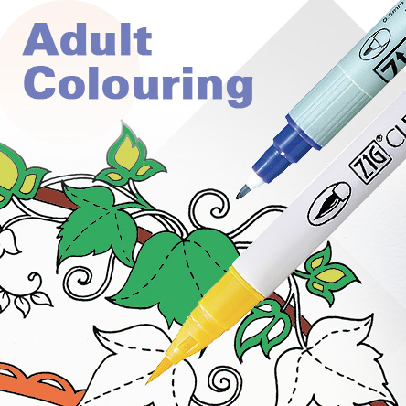 Kuretake Adult Colouring