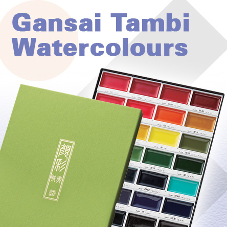 Kuretake Gansai Tambi Watercolours