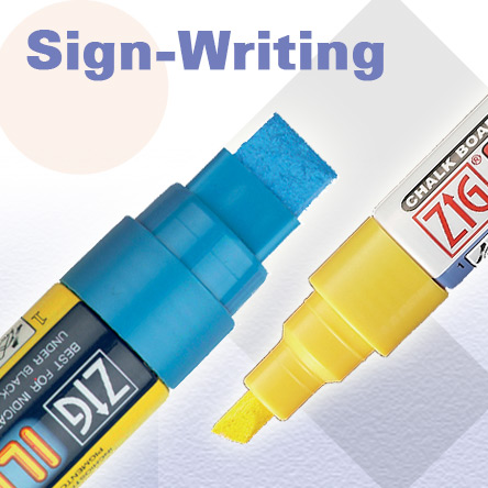 Kuretake Zig Sign-Writing Pens