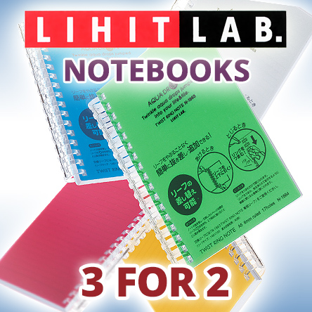 Lihit Lab Notebooks 3 for 2