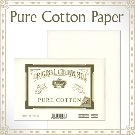 Original Crown Mill Pure Cotton Paper