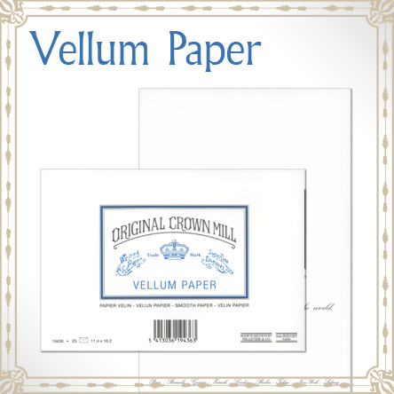Original Crown Mill Vellum Paper