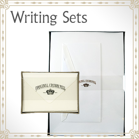 Original Crown Mill Writing Sets