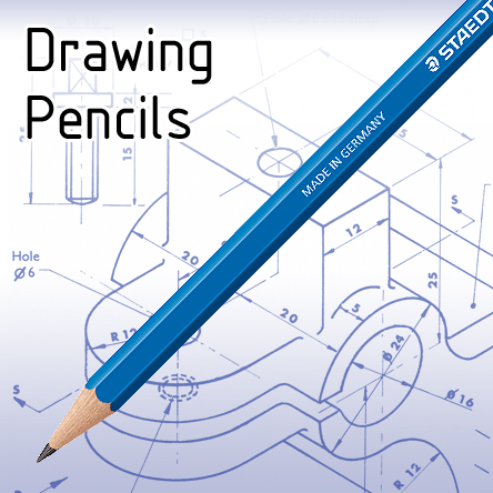 Pencils for Technical Drawing