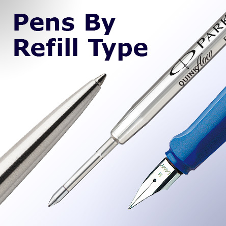 Pens By Refill Type