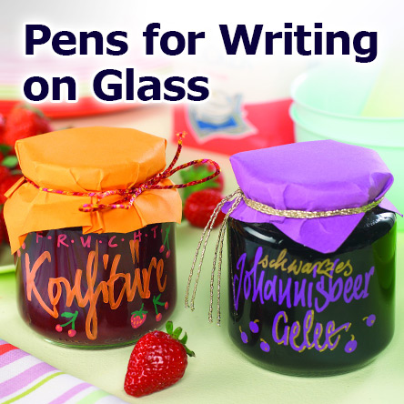 Pens for Writing on Glass